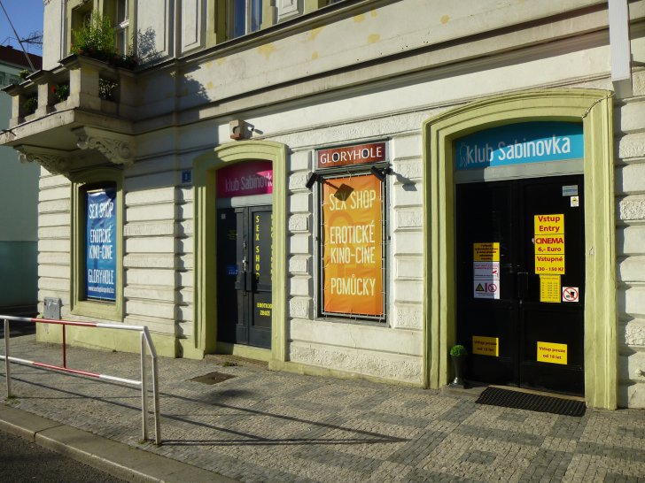 Prague for Adults Sabinovka Club - A strange so-called